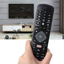 Czarny czarny pilot wymiana kontrolera dla Philips NETFLIX Smart TV 398GR08BEPHN0012HT 1635008714 43PUS6162