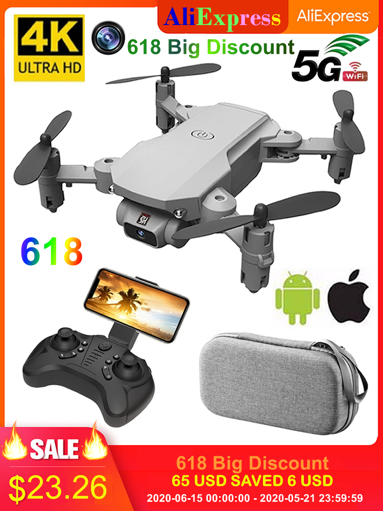 AOSST Rc-Drone Toy Helicopter Camera UAV Aerial Led-Light FPV Foldable Wifi Photography