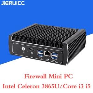 Image 2 - firewall mini pc/vpn router 6 INTEL 82583V 1000M LAN FANLESS MINI PC With 1*COM RJ45 Port,1HDMI,4*USB3.0 Support DDR4 RAM