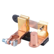 1 Pc Battery Switch Knife-type Brass Car Battery Power-off Horizontal Knife Car Refit Battery Power-off Switch(China)