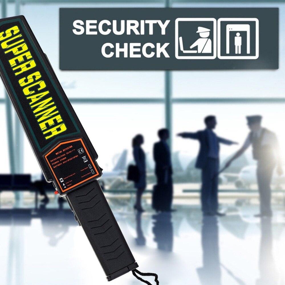 Detector de metais handheld da segurança do