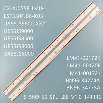 Nowy oryginalny dla Samsung UE55JS9000 UN55JS850D UA55JS9800 UA55JS8000 UE55JS8500 BN96-34774A BN96-34775A LJ41-00120E LJ41-00120F tanie i dobre opinie JIAMEN CN (pochodzenie)