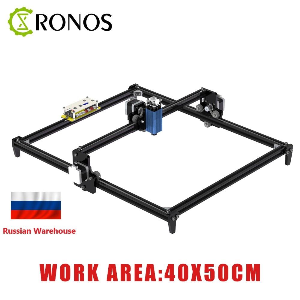 40*50cm Mini 2.5W CNC Laser Engraving Machine 2Axis DIY 2500MW Engraver Desktop Wood Router/Cutter/Printer + Laser Goggles
