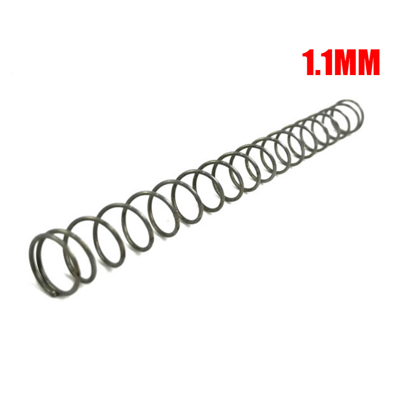 1.1/1.2/1.3/1.4/1.5mm Spring for Jin Ming J8/9 M4 MKM2 Scar M4A1 Gel Balll Water Gu n Replacement Spring Toy Accessories