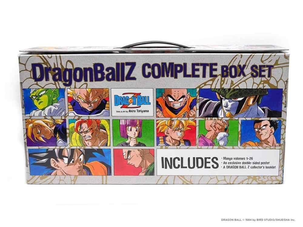 26 Books Dragon Ball Z Complete Set Manga Comic Book Japanese Akira Toriyama Cartoon Comic Book Language English Aliexpress