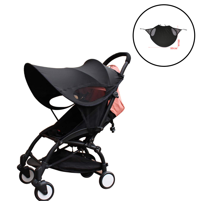 CY00208 Universal Stroller Sun Shade Cover Large Shade Maker Sun Shield Canopy UV Windproof Protection Rays Cover For Baby Car