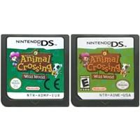 DS משחק מחסנית קונסולת כרטיס Animal Crossing Wild העולם אנגלית שפה עבור Nintendo DS 3DS 2DS