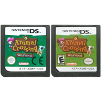DS Game Cartridge Console Card Animal Crossing Wild World English Language for Nintendo DS 3DS 2DS image