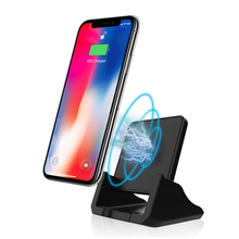 10W QI Wireless Charger Fast Charging Dock Phone Holder Stand Quick For iPhone 11 X XR XS 8 Samsung S10 S9 Note 10 9 fast qi 10w wireless charger stand for iphone xr x 8 plus samsung s10 huawei p30 pro in mobile phone charger dock station