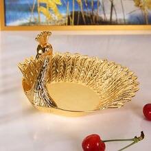 Новая Элегантная тарелка imuwen роскошная нежная в виде птицы