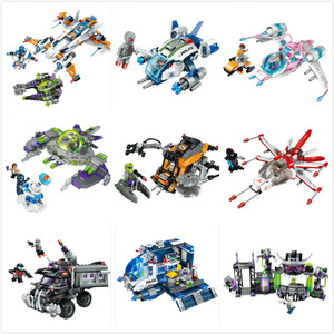 Enlamten E1605-1617 Звездные войны космический злой Alliance база инопланетянин вторжение Строительные блоки совместимы с детскими игрушками подарок