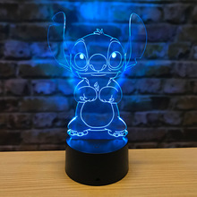 Officials Di Seed 3D Lamp Small Ornaments Gift Crafts Acrylic Night Light Birthday Gift's Decorative Lights USB Table Lamp