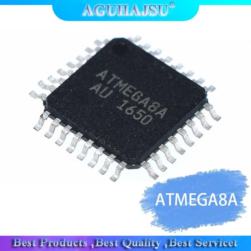 1 sztuk ATMEGA8A-AU QFP ATMEGA8A TQFP MEGA8A-AU 8A-AU układu 8-bitowy mikrokontroler