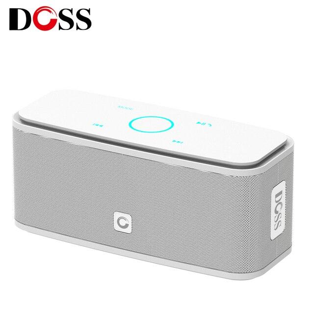 דוס SoundBox מגע ורוד Bluetooth רמקול 2*6W נייד אלחוטי רמקולים סטריאו צליל תיבת עם בס Parlante bluetooth טור