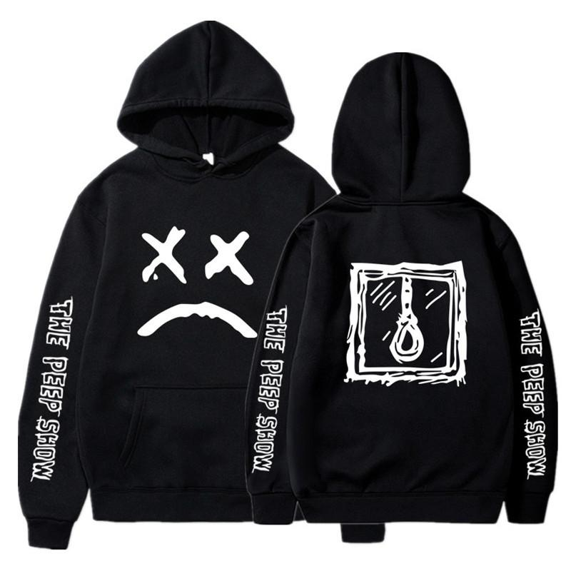 Lil Peep Hoodies Love Off White Men Sweatshirts Hooded Pullover Sweatshirt Male/Women Sudaderas Crybaby Hood HoodieS-XXXL