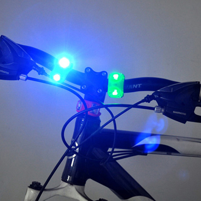 USB Rechargeable LED Bicycle Front Head Lights /& Bike Frog Rear Tail Lights Set