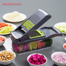 Vegetable Cutter Aksesoris Dapur Mandoline Slicer Cutter Buah Pengupas Kentang Wortel Keju Parutan Sayuran Slicer(China)