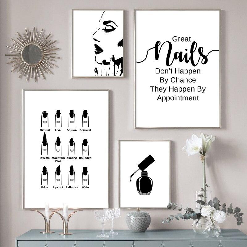 Nail Salon Wall Decoration Beauty
