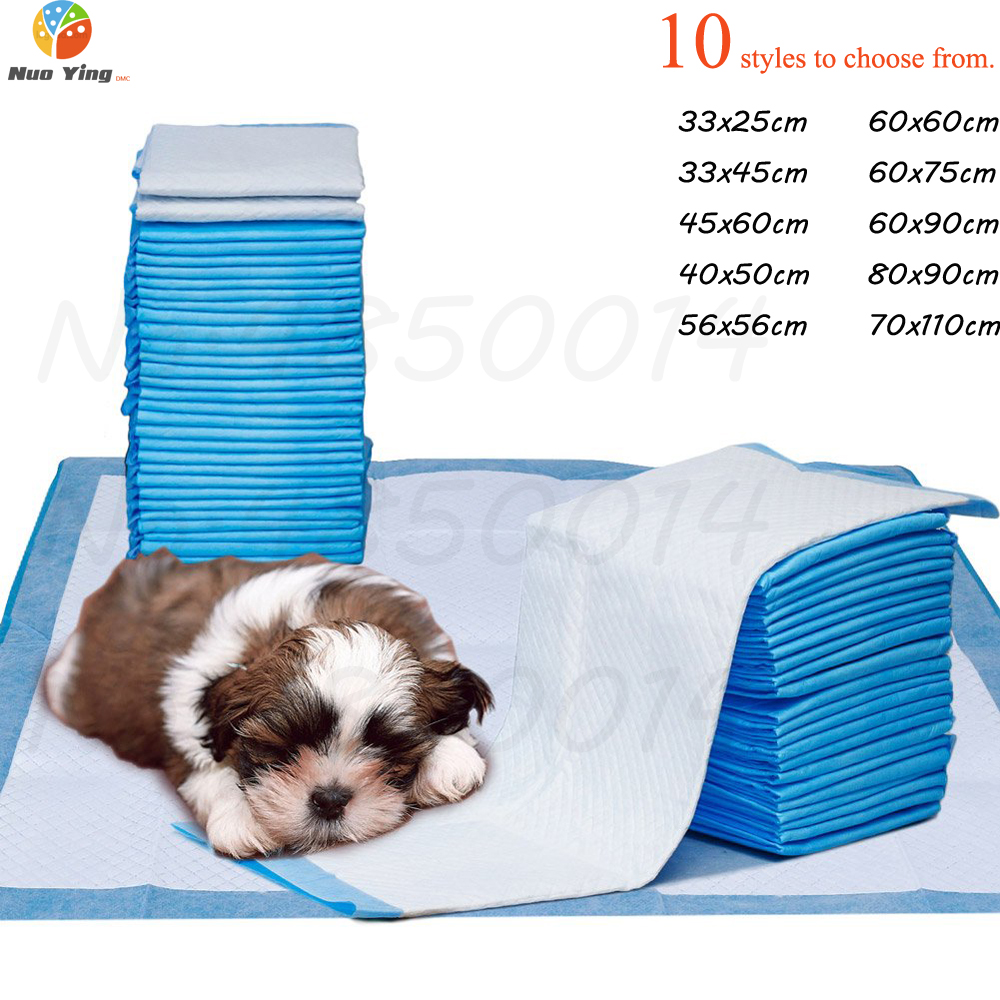 100pcs Thick Disposable Pet Diaper Dogs Super Absorbent Training Urine Pad For Puppy Cleaning Deodorant Diapers Pet Supplies