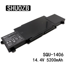 SHUOZB akumulator do laptopa SQU-1406 14.4V 74.88Wh 5200mAh dla ThundeRobot 911-E1 911-T2A 911-S2B 911-T1 Chimera CX-9 SQU1406 baterii(China)