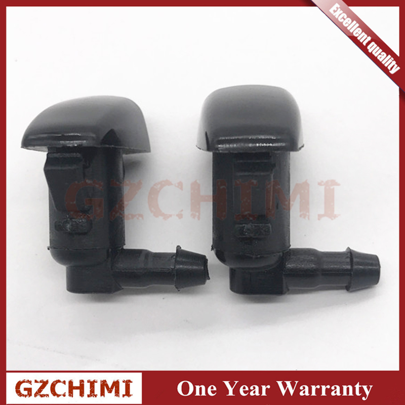 95226510 2Pcs 3-Hole Car Windshield Washer Wiper Water Spray Nozzle Fit For Chevrolet Cruze 2009-2014