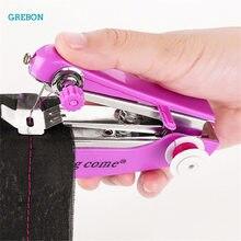 Machine à coudre Portable pour travaux d'aiguille bricolage ménage outil de point électrique Portable réparation rapide des vêtements
