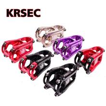 Bike Stem KRSEC 31.8*28.6*50mm MountainBike Cycling Aluminium Alloy CNC Bicycle MTB Cross Country Road Accessories