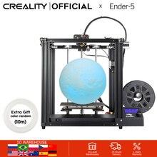 Impressora CRIATIVIDADE 3D Criatividade Ender 5 com Landy Energia estável, V1.1.3 mainboard, placa magnética construir, desligue currículo