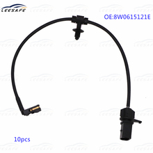10PCS Brake Pad Wear Sensor Rear Right Disc 8W0615121E for AUDI A4 Avant A5 Sportback 8W2 8W5 B9 F53 F5A Brake alarm sensor