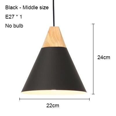 Black 220mm no bulb