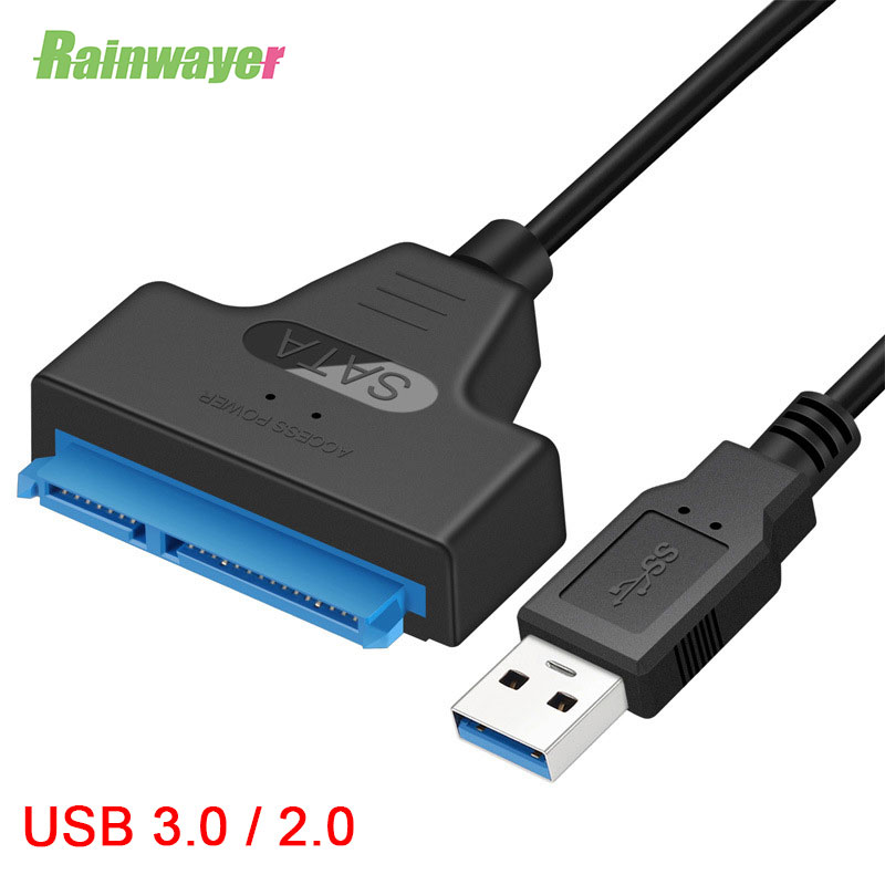 USB 3.0 SATA 3 Converter Cable Sata To USB3.0 Adapter Up To 6 Gbps Connect 2.5 Inches HDD SSD Hard Drive 22 Pin Sata III Cable
