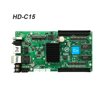 Huidu HD-C15 HD-C15C asynchronous full-color led video controller 384*320 pixels compatiable with HD-R501 R5018 Receiving Card