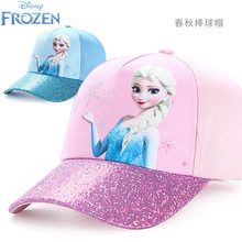 2021hot genuíno disney congelado elsa anna olaf chapéu de brinquedo crianças boné boneca presente de natal de aniversário crianças boneca para a idade 3-9 anos
