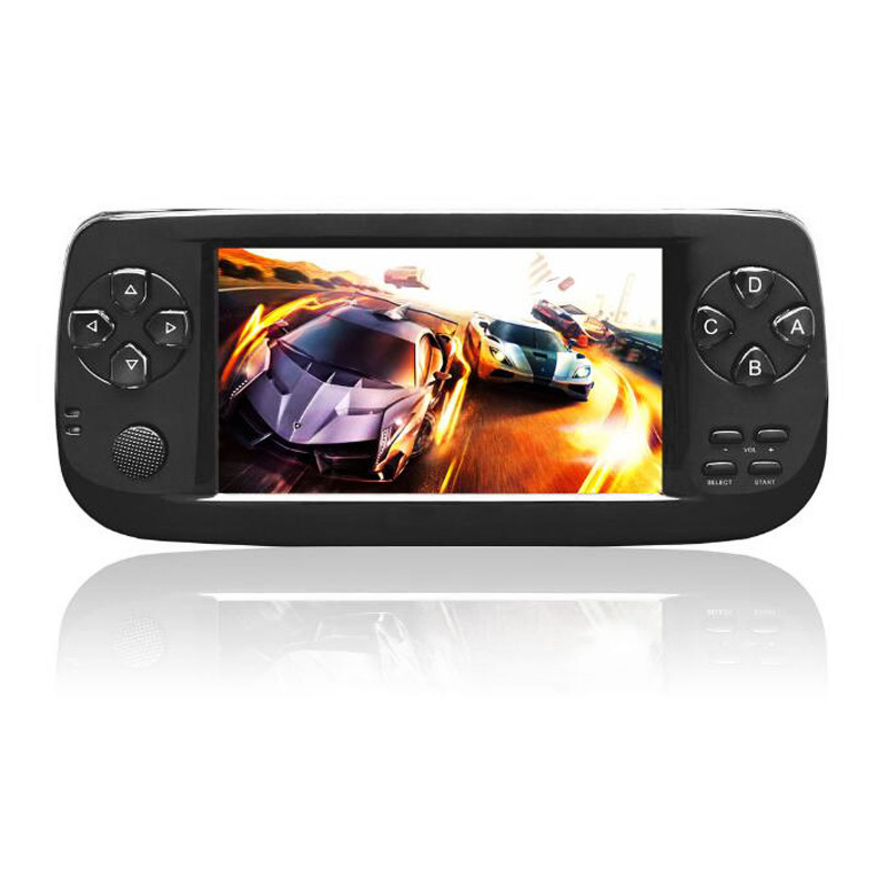 New 64 Bit 4.3 Inch Built-in 3000 Games PAP K3 For CP1/CP2/GBA/FC/NEO/GEO Format Games Portable HD Handheld Video Game Console(B