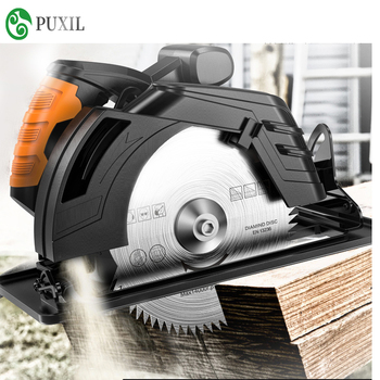Electric circular saw 7/ 9 inch table saw flip saw circular saw cutting machine multifunctional household woodworking  chainsaw woodworking power tools metal tiles mini cutting machine guide electric circular saw household small chainsaw set ps7818ms