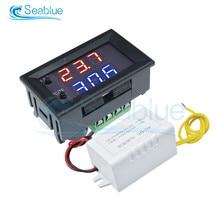 Thermostat régulateur de température 12V cc AC 110-220V W1209WK, interrupteur avec sonde de capteur NTC