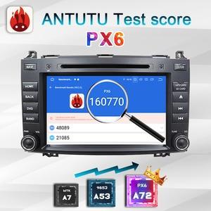"Image 4 - 8 ""PX6 2 דין אנדרואיד 10 רכב רדיו עבור מרצדס בנץ אצן B200 W209 W169 W245 ויטו W639 A180 a160 אוטומטי אודיו סטריאו autoradio מערכת מולטימדיה לרכב"