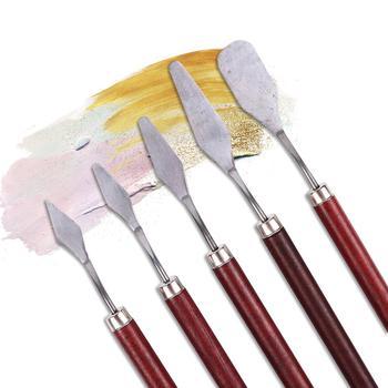 Stainless Steel Spatula Kit Paint Brushes Alca Cartel