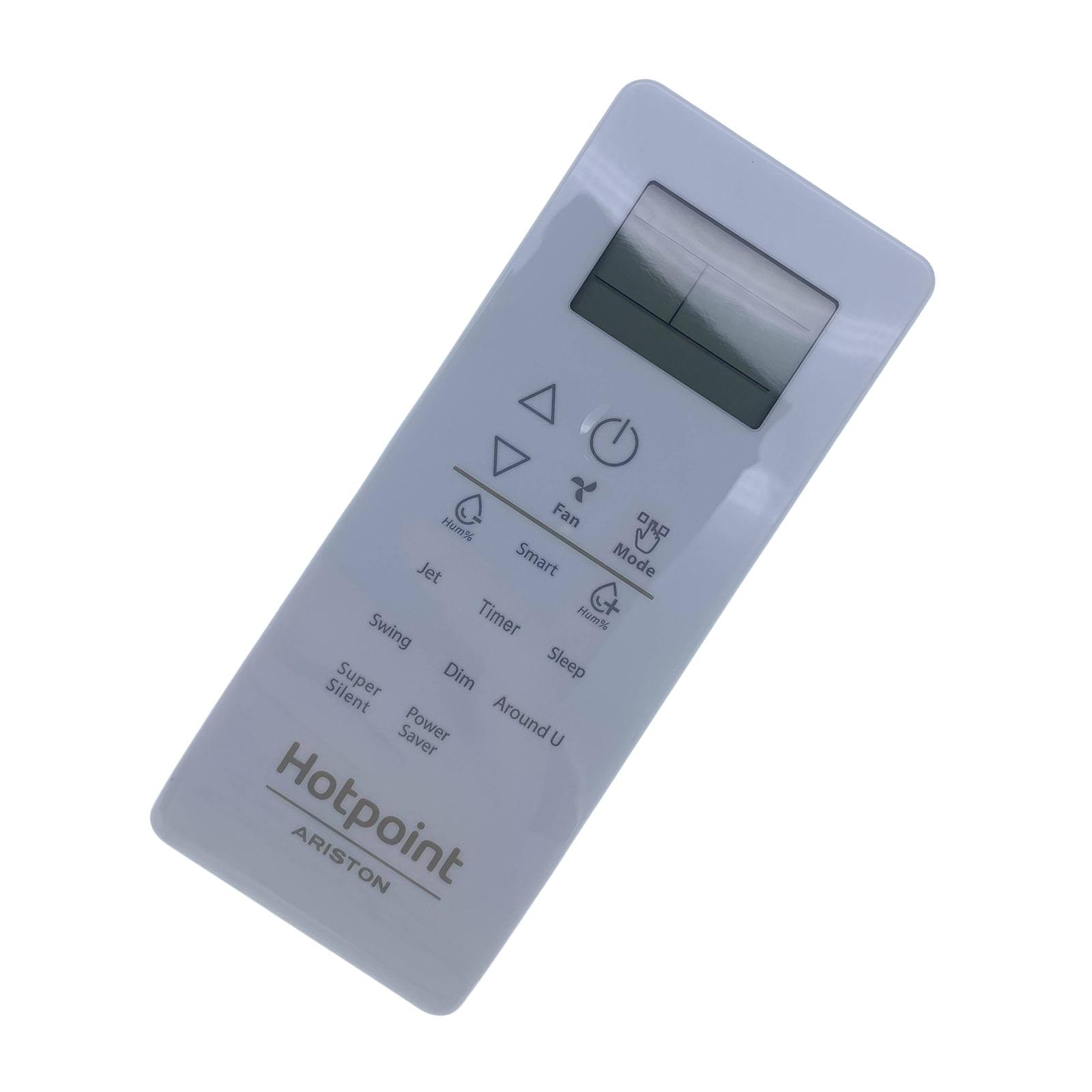 Controle remoto do condicionador de ar de hotpoint-ariston para spiw409llha/spiw412llha/spib412hp/spiw418hp