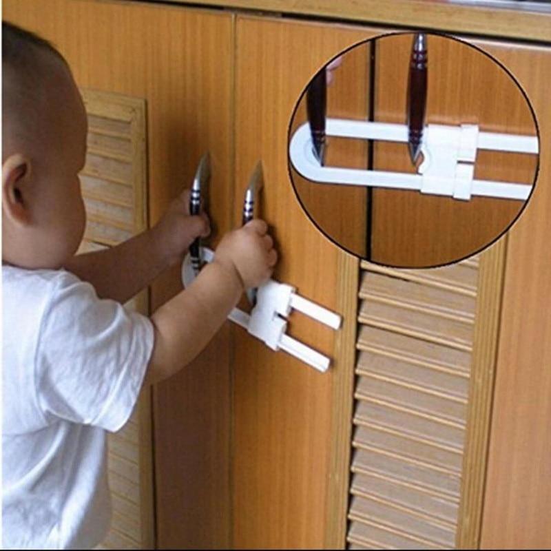 20PC/LOT Cabinet Lock Kitchen Cabinet Handle Lock Simple Safety Lock
