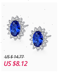 H6c91a06235ad4ebd95337be09ff1b27c2 - CZCITY New Natural Birthstone Royal Blue Oval Topaz Stud Earrings With Solid 925 Sterling Silver Fine Jewelry For Women Brincos