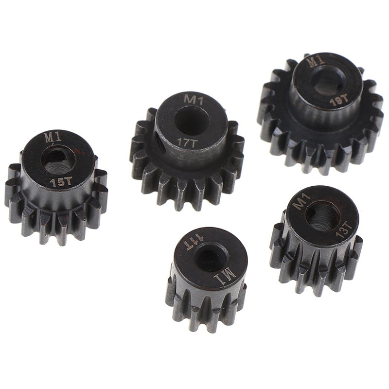 M1 5mm 11t 13t 15t 17t 19t Pinion Motor Gear Combo Kit For 1/8 Rc Car Motor