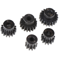 M1 5mm 11t 13t 15t 17t 19t pinhão motor engrenagem combo kit para 1/8 rc motor do carro