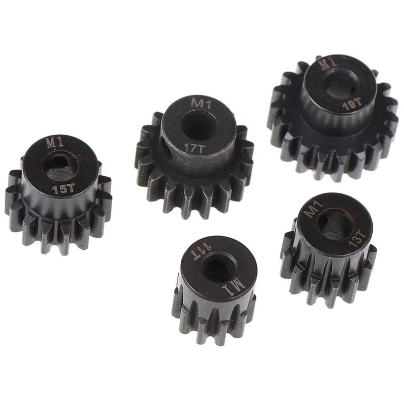M1 5mm 15t 16t 17t 18t 19t Pinion Motor Gear Combo Kit For 1/8 Rc Car Motor