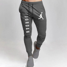 Trousers Sportswear Sweatpants Jogger-Track Spring Fitness Summer Casual Solid-Color