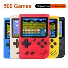 Портативная мини ретро игровая консоль, портативный игровой плеер 3,0 дюймов, 500 игр в 1, Карманная игровая консоль