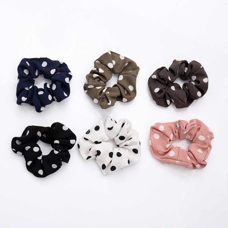 New Women Elastic Hair Rope Ring Tie Scrunchie Ponytail Holder Hair Band Headband Hair Accessories Hair Bands for Women