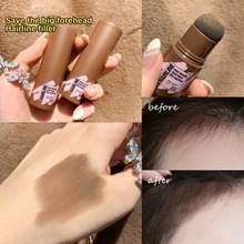 Натуральная модификация пудра для волос, водостойкая пудра для теней для волос, пуховка с грибовидной головкой, оптимизатор для линии волос...