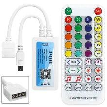 DC 5~24V SP513E 4pin IR WIFI Smart Speaker Music LED Light Bar Controller For 5050 2835 WS2811 WS2812B Led Strip Magic Home