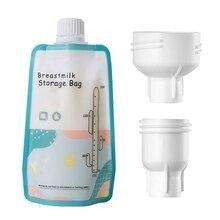 Breast Milk Storage Freezer Bags 150ml Safety Mother Milk Organizer Bag Feeding Supplies Food Storage Breast Milk Bags